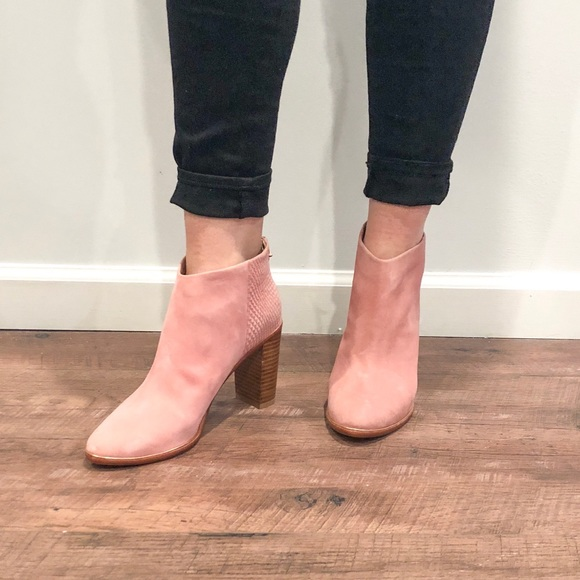 Ted Baker Shoes - Pink Suede Booties